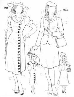 online paper dolls archive charleston belle little black dress Mourning in Victorian England 1970 s the rebels