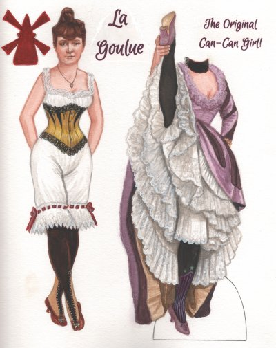 [La Goulue, the original can-can girl]