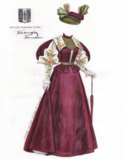 [Lyons, fashion 1896]