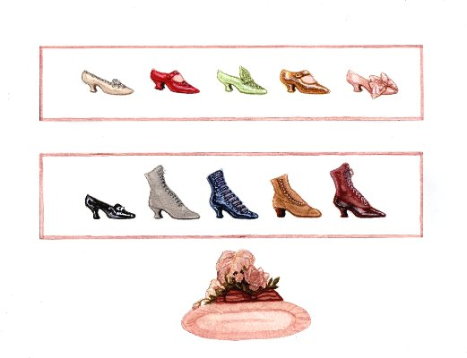[What shoes? Try on ten sets of shoes and a hat!]